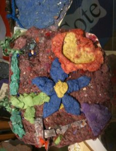 3/4 grade - Handmade paper and book