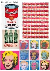 famous Warhol