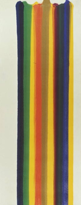 Morris Louis, Number 182, 1961